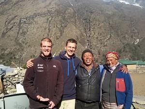 Carlos Santalena durante a viagem ao Nepal (Foto: Arquivo Pessoal/ Carlos Santalena)