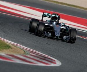 Nico Rosberg lidera dia de testes da Fórmula 1 em Barcelona (Foto: Getty Images)