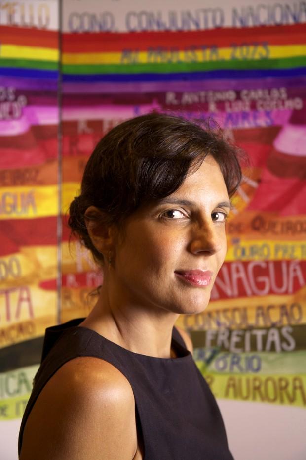 Carla Caffé, diretora de arte do filme e professora da EBAC (Foto: Divulgação)