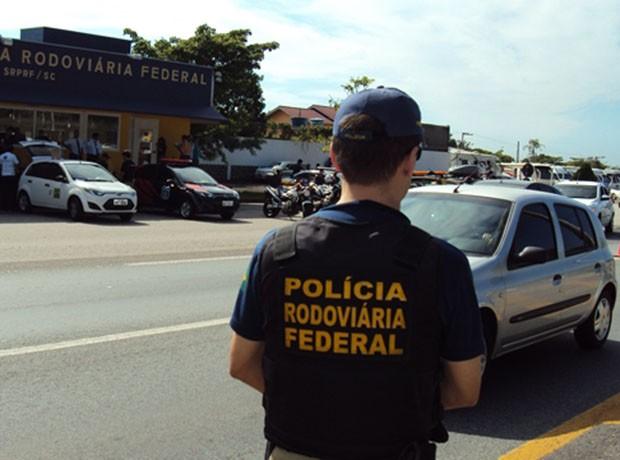 PRF faz blitz em Santa Catarina (Foto: Divulgação/PRF)