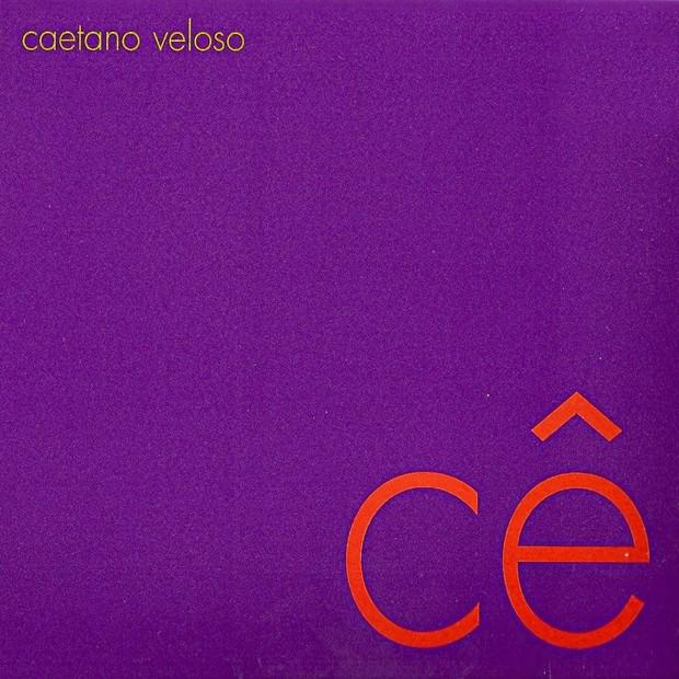 Cê, de Caetano Veloso (Foto: reprodução/Instagram)