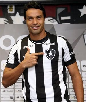 Dudu Cearense Botafogo (Foto: Satiro Sodré / SS Press / Botafogo)