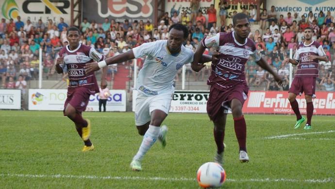 Tinga Avaí x Atlético-IB (Foto: Orlando Pereira/Atlético-IB)