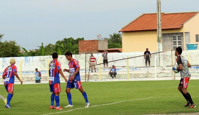 Barras no Campeonato Piauiense 2014 (Foto: Wenner Titto)