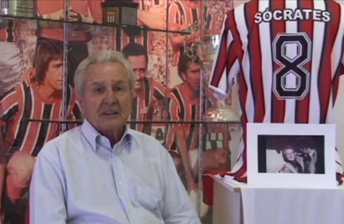 Atilio Benedini, ex-presidente do Botafogo (Foto: Reprodução/TV Botafogo)
