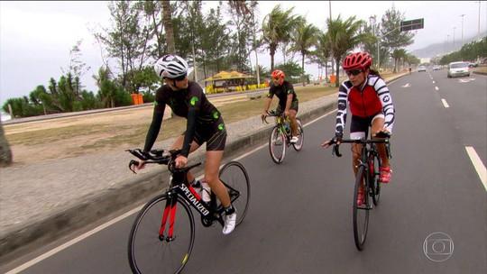 Fernanda Keller e treinadores fazem força tarefa para levar trio ao ápice