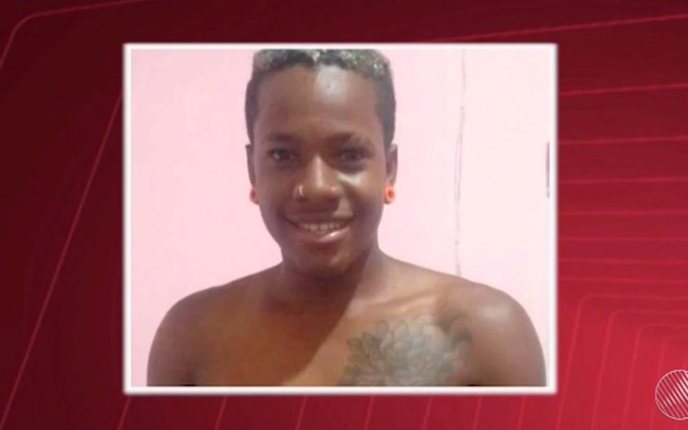 Cleberson Lima, de 22 anos, foi espancado durante um assalto, após sair da Micareta de Feira (Foto: Reprodução/TV Subaé)