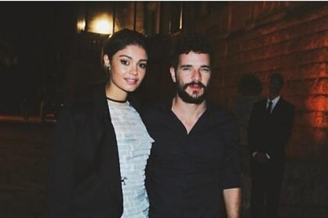 Sophie Charlotte e Daniel de Oliveira  (Foto: Reprodução )