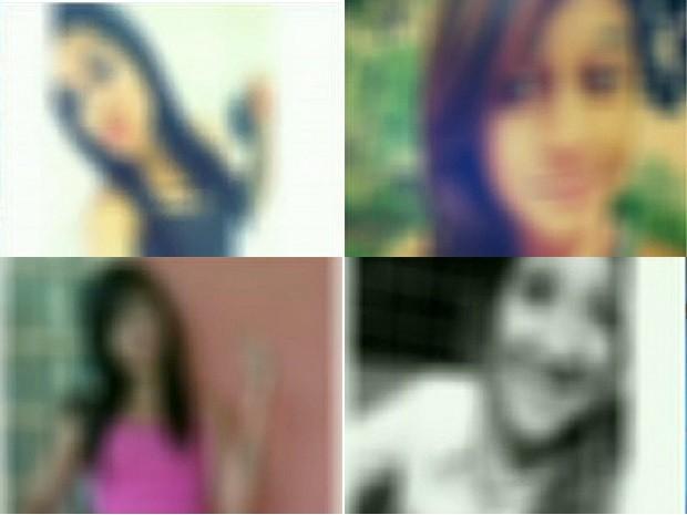 Fotos de garotas do DF usadas em montagem de conotação sexual; Polícia Civil investiga o caso (Foto: WhatsApp/Reprodução)