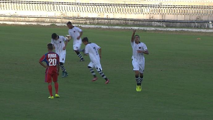 Botafogo-PB x Femar, Sub-19, paraibano (Foto: Reprodução / TV Cabo Branco)