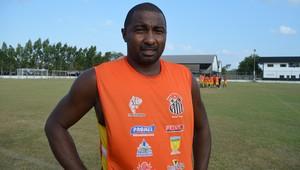 Jean Marabaixo; Santos-AP; Futebol; Amapá (Foto: Rafael Moreira/GE-AP)