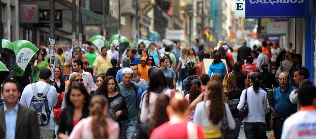 População no Centro de Vitória (Foto: Divulgação/ Agência Brasil)