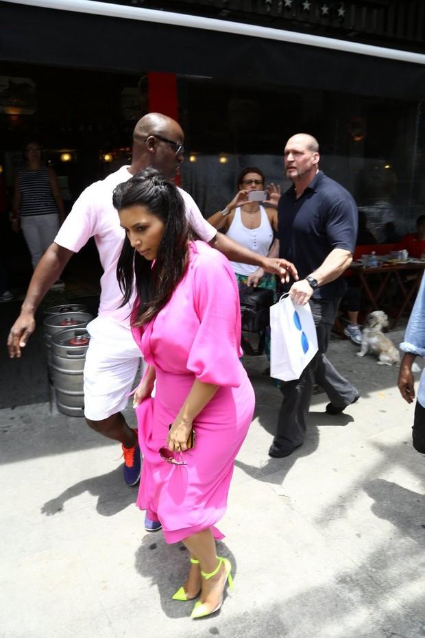 Kim Kardashian no Rio (Foto: Gabriel reis/ Ag. News)
