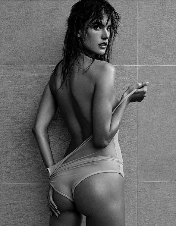 Alessandra Ambrosio (Foto: Narcisse/Reprodução)