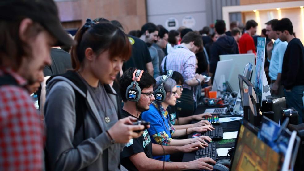 The Mix é um evento focado na divulgação de games independentes e já acontece na E3 há 3 anos (Foto: Divulgação)