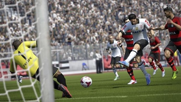 Corinthians fifa 14 (Foto: Divulgação)