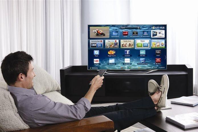 A maioria das Smart TVs possuem uma loja de aplicativo que amplia as possibilidades de conteúdos digitais (Foto: Divulgação/Samsung)