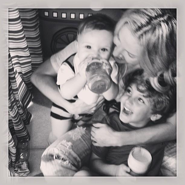 Claudia Leitte e filhos (Foto: Instagram / Reprodução)