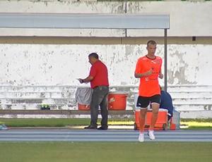 Raphael Andrade, zagueiro do Clube do Remo (Foto: Reprodução / TV Liberal)