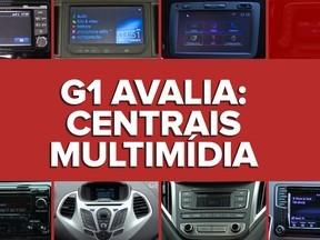 VÍDEO: G1 avalia centrais multimídia de carros zero de até R$ 50 mil