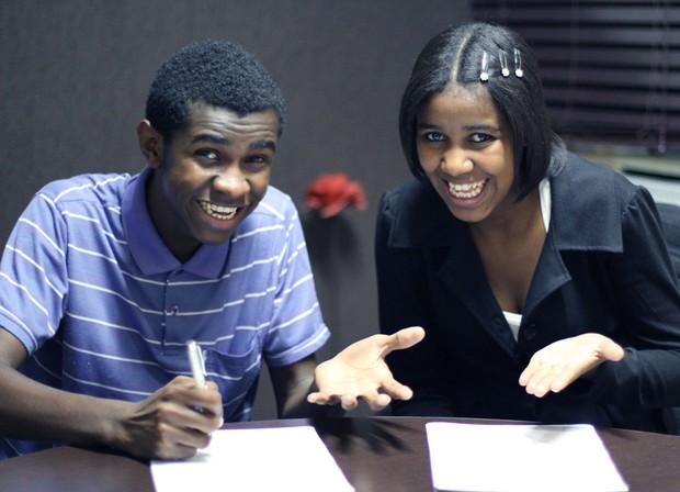 Jefferson e Suellen (Foto: Salluz Productions/ Divulgação)