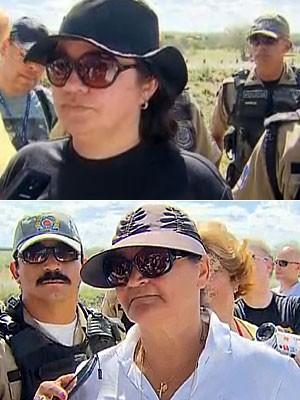 Josineide Confessor e Vanja Coelho (Foto: Reprodução / TV Globo)