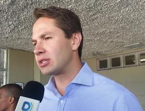 Pedro Vilela, secretário esporte (Foto: Viviane Leão/GloboEsporte.com)