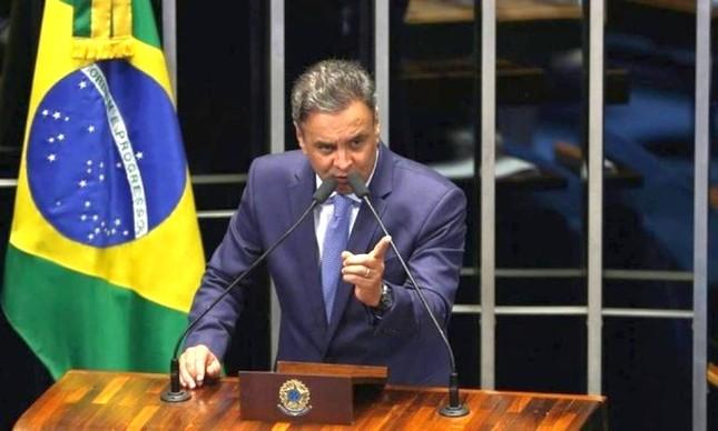Senador Aécio Neves (Foto: Ailton de Freitas / Agência O Globo)