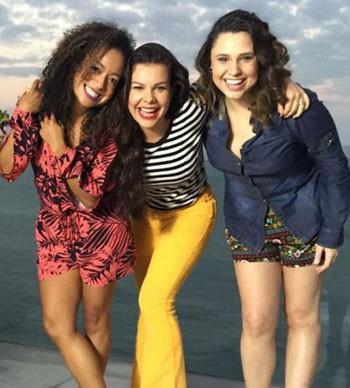 Aretha Oliveira, Fernanda Souza e Francis Helena (Foto: Reprodução/Instagram)