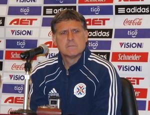 Gerardo Martino Técnico Paraguai 1 (Foto: Leandro Canônico/GLOBOESPORTE.COM)