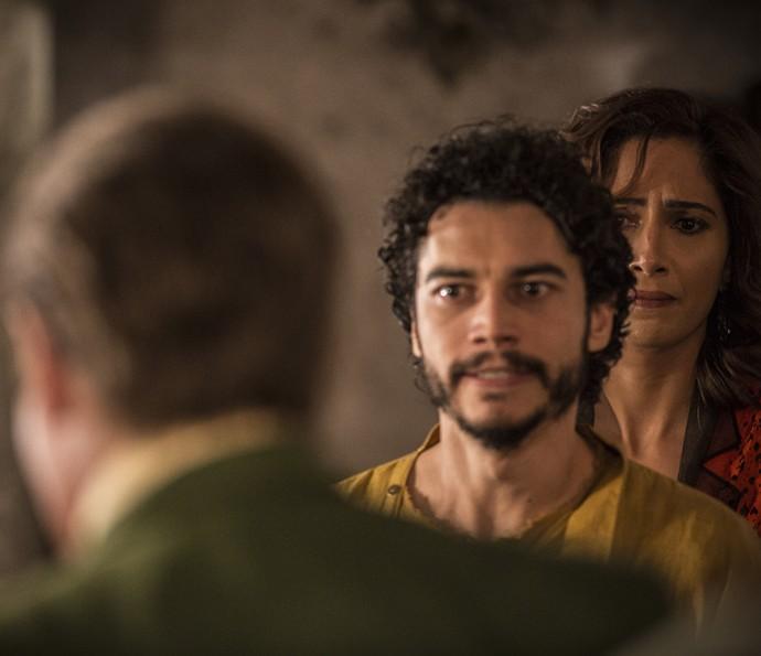 Martim e Tereza (Foto: Inácio Moraes/ Gshow)