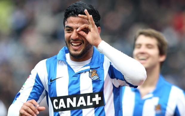 Carlos Vela gol Real Sociedad (Foto: EFE)