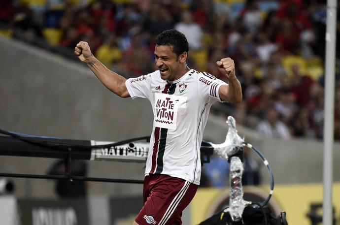 Flamengo x Fluminense Fred Maracanã (Foto: André Durão)
