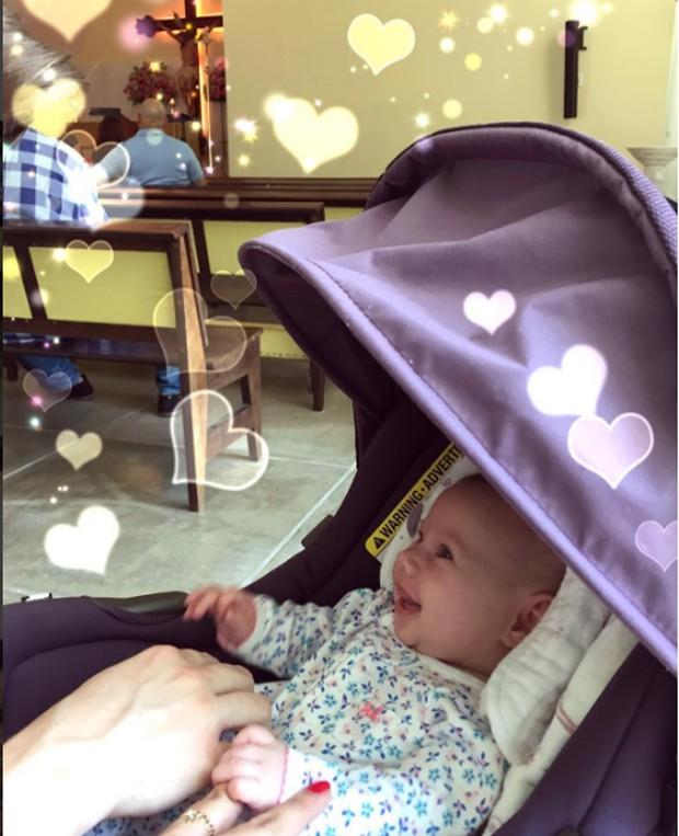 Melinda, filha de Thais Fersoza (Foto: Instagram / Reprodução)