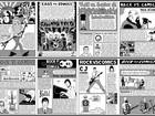 Fnac Brasília recebe mostra com histórias do rock em quadrinhos