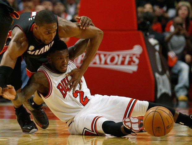 Basquete NBA - Miami Heat v Chicago Bulls, Nate Robinson (Foto: Reuters)