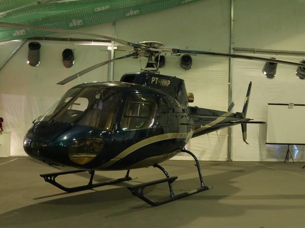 Helicoptero Esquilo AS 350B (Foto: Thiago Rios Gomes)