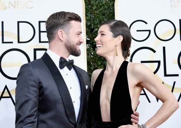 Jessica Biel e Justin Timberlake (Foto: Getty/Frazer Harrison)