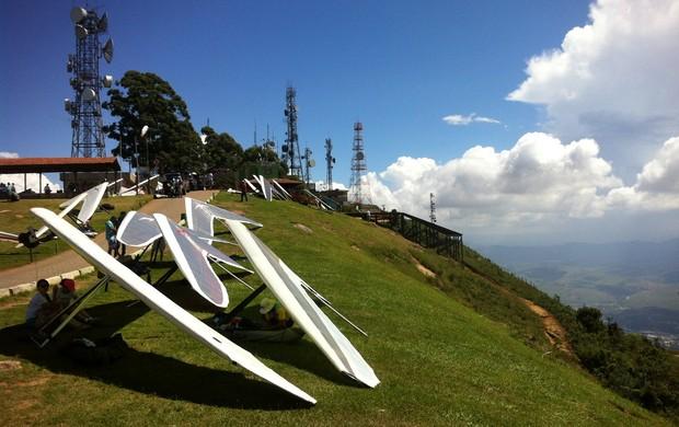 voo livre em Valadarres (Foto: Diego Souza/globoesporte.com)
