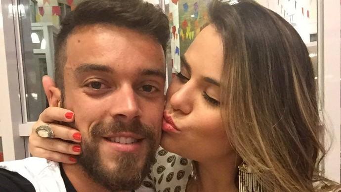 Tiago Barreiros meia do Potiguar de MOssoró Camila (Foto: Divulgação)