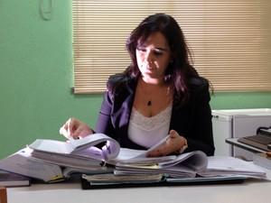 Juíza Kátia Guedes cirou conta para arrecadar multas pecuniárias no RN (Foto: Felipe Gibson/G1)