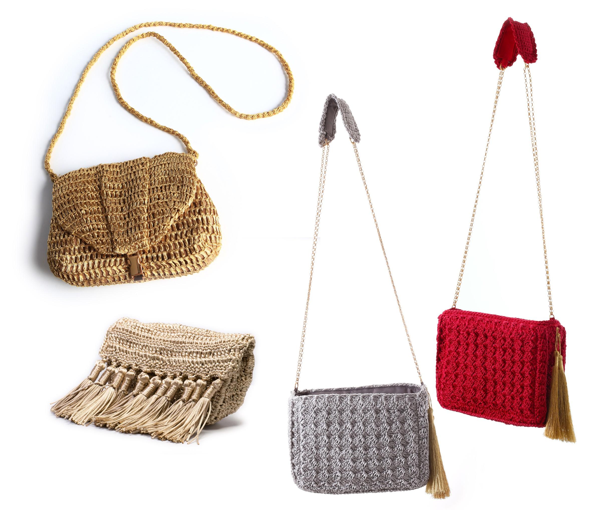 Bolsa De Festa Em Croche Passo A Passo : Conhe?a j? de paula marca slow fashion que cria bolsas em