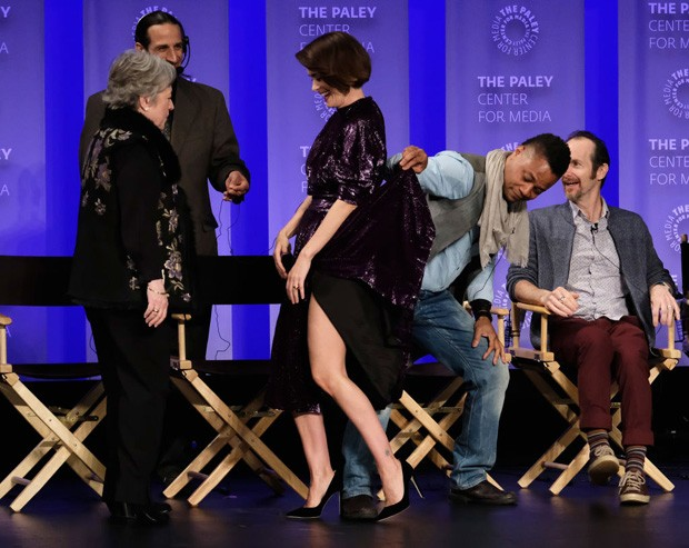 Kathy Bates, Sarah Paulson, Cuba Gooding Jr. e Denis O'Hare (Foto: Getty Images)