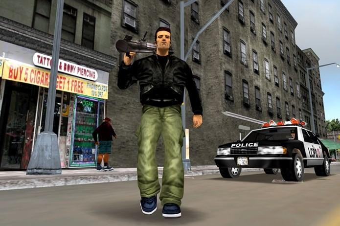 GTA 3 foi uma revolução para a série de jogos com foco em crimes e violência (Foto: Divulgação)