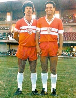 Juarez e Davino; CRB (Foto: Divulgação/RobervalDavino)
