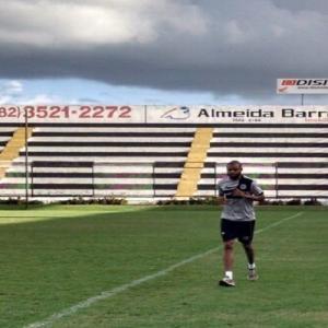 Nunes, novo goleiro do ASA (Foto: Divulgação/Site oficial do ASA)