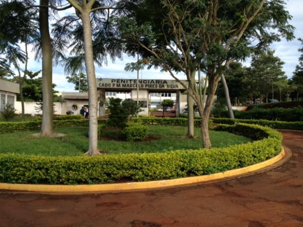 Tumulto foi registrado na penitenciária de Itaí (Foto: Patrick Lima / TV TEM)