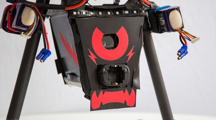 O Projeto C.U.P.I.D é um drone produzido pela Chaotic Moon Studios