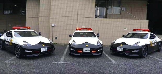 Viatura Nissan 370Z Nismo para a polícia do Japão (Foto: Reprodução)
