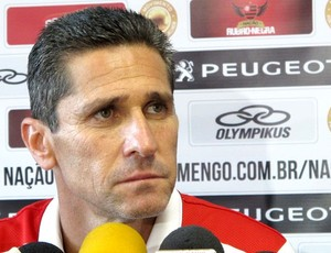 Jorginho Flamengo coletiva (Foto: Richard Souza)